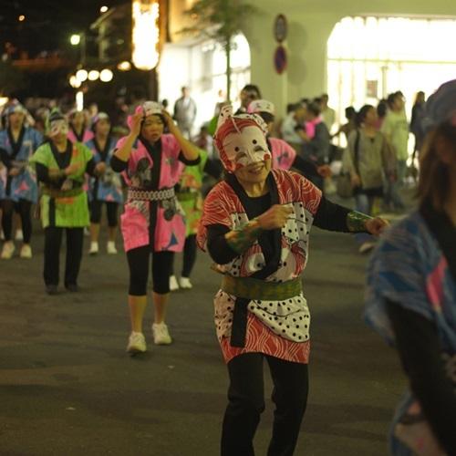 【6月上旬】『どんつく祭り』しょうふく面踊り