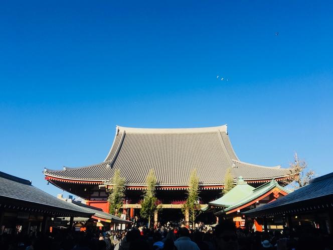 周辺には東京最古の仏教寺院である浅草寺を始め、歴史と伝統の観光スポットがたくさんあります。