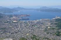 灰ケ峰から見た呉市街