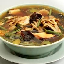 *山菜ちゃんぽん麺(夕食がつかなくても別料金で召し上がれます)