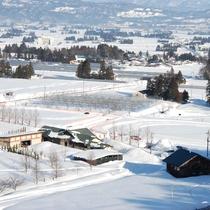 *冬【いいでスノーパーク】宿から車で4分!この冬は思いっきり雪遊びしよう!