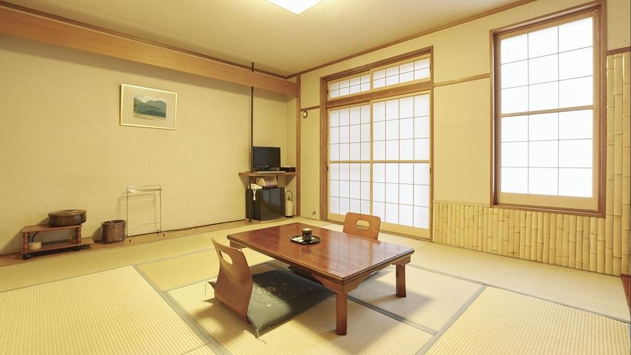 【客室一例】旧館レトロ調和室(東館)…リーズナブルに温泉・お料理をお楽しみいただける客室です。