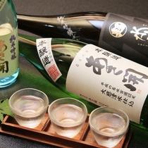 【お飲み物一例】「あさ開」夏の3種飲み比べ ※イメージ