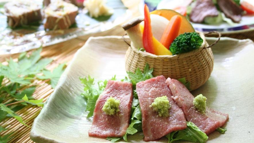 【ご夕食一例】全国に誇るブランド牛「前沢牛」贅沢プラン! ※イメージ