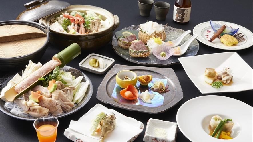 【ご夕食一例】季節料理/2017年秋 ※イメージ