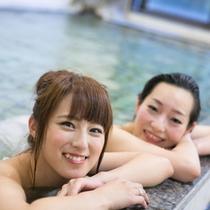 【龍泉閣】露天風呂付き大浴場ひめの湯