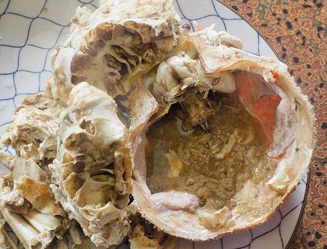 茹で タカアシガニ 濃厚なみその場合も有。