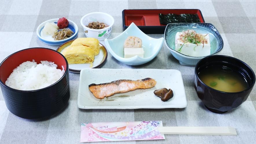 *【料理】朝食一例でございます。旅館ならではの和定食になります