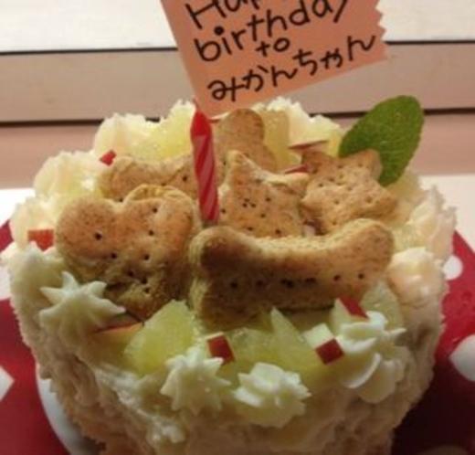 バースディケーキ1