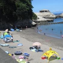 堂ヶ島 海水浴2