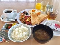 朝食無料サービス(6:30〜9:00)