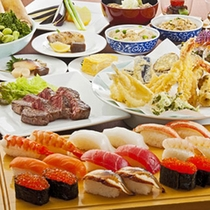 ■日本料理「行庵」オーダービュッフェ