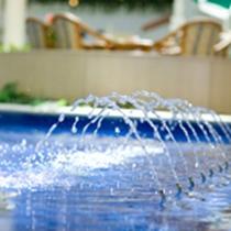 ■アトリウム 夏のイメージ(噴水ver)