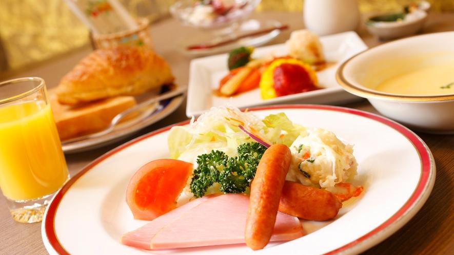 【朝食:洋食】選べる和食or洋食 温泉旅館で味わう洋食メニュー