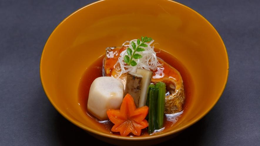 【夕食】煮物一例