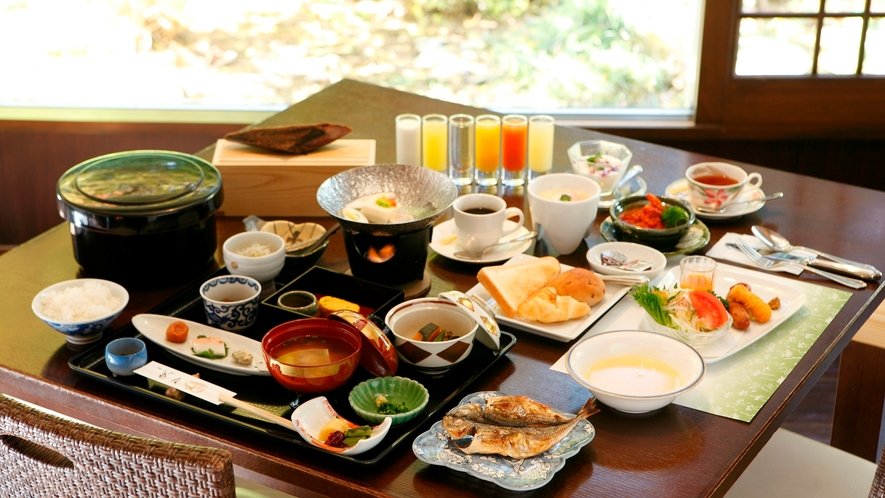【朝食】選べる和食or洋食、その日の気分でお好きな方を♪