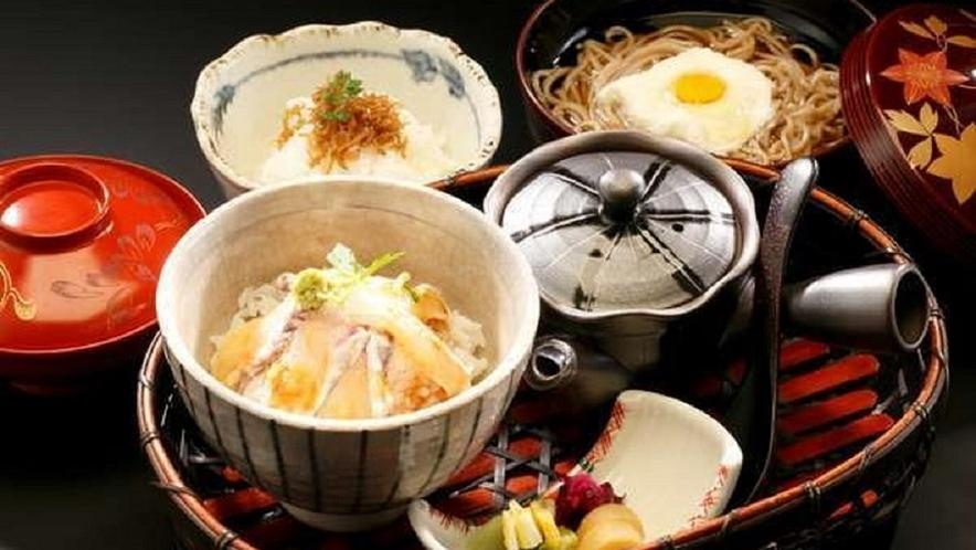 【夕食】選べるお食事一例