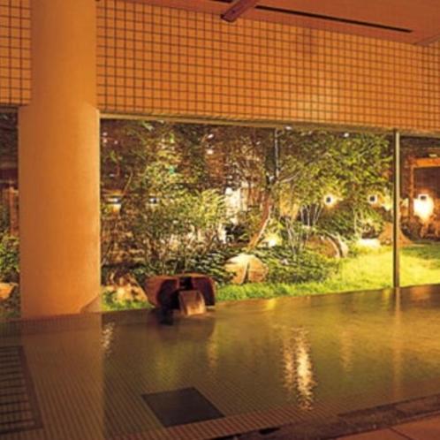 【本館1・2階 大浴場】夜風景