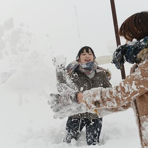 【冬】みんなで雪に遊び!