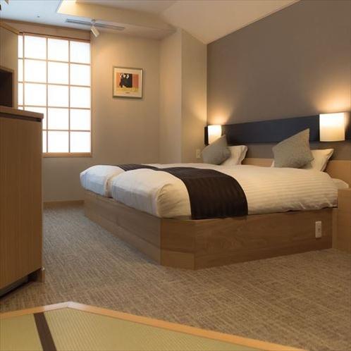 【迎賓特別室】枕元にもコンセントを設置