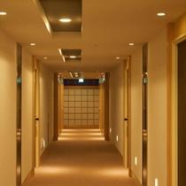 【客室階】廊下