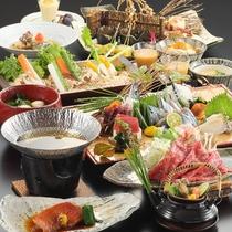【秋季 2019年9月〜11月】料理長おまかせ特選会席コース《夕食グレードアップ》