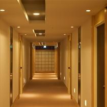 【最上階5階】2015年6月リニューアル「和モダン客室」廊下