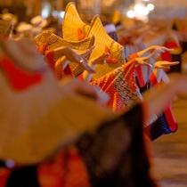 【羽後町】西馬音内盆踊り 毎年8/16.17.18開催