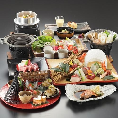 【冬季 2020年12月〜2021年2月】料理長おまかせ特選会席コース
