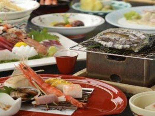 【特撰夕食】アワビ踊り焼き付和会席 2食付