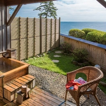 庭園付き露天風呂付き客室