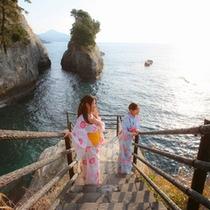 海鳴り岬からの風景