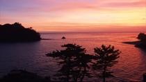 夕陽が沈んだ後の夕焼けもきれいです