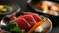 牛肉の鉄板焼き