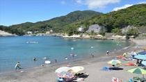 夏季は当館より送迎しているおすすめビーチです
