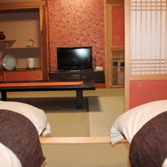 【祇園】2階 和室+セミダブルベッド 二間続き