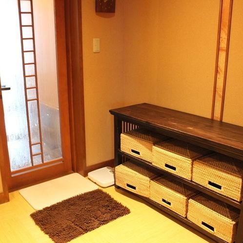 【二輪草】脱衣室