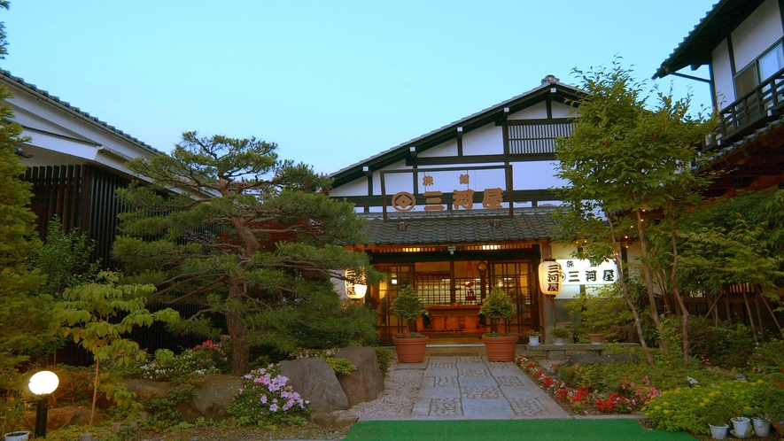 温宿 三河屋 外観(2)