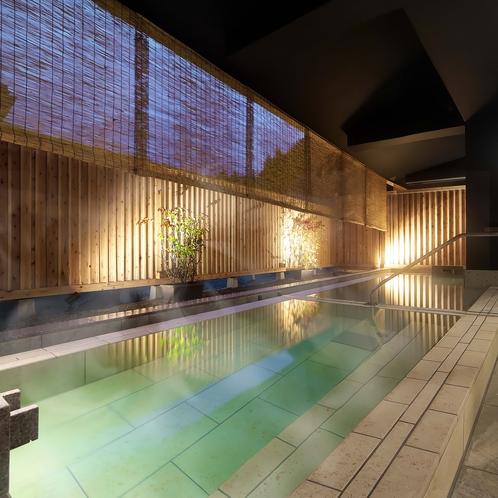 男性大浴場「琥珀の湯」露天風呂