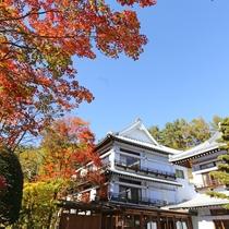 秋の草津ホテル