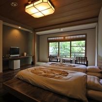 本館 1階 和洋室【2ベッド】【禁煙】