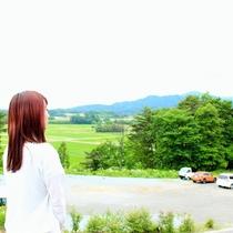 駐車場からの眺め