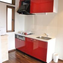 新客室 キッチン