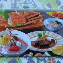 蟹姿と牛肉(写真はイメージ)