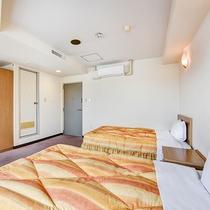 *【別館ツイン】広さは22平米。荷物整理などもラクラクのゆったり空間です!