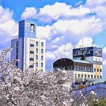 【外観】宮崎のほぼ中央!西都市で唯一のシティホテル