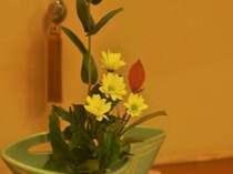 客室の生花