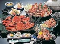 カニづくしの一例(大鍋)