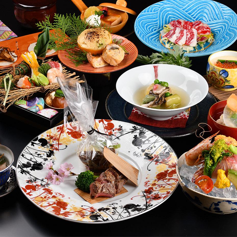 懐石料理/一例