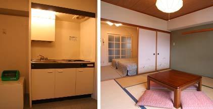 和洋室14畳キッチン